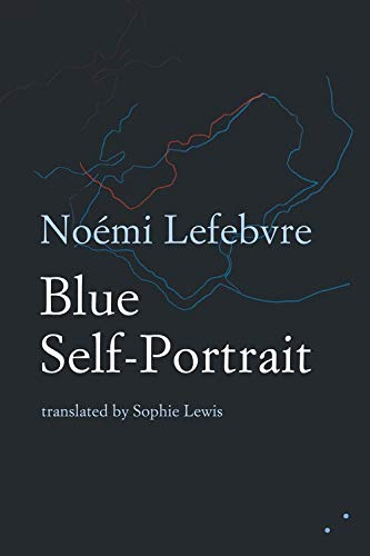 Blue Self-Portrait by Noémi Lefebvre